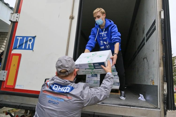 Фонд депутата Государственной Думы Александра Прокопьева предоставил 25 тысяч штук флаконов с антисептиком