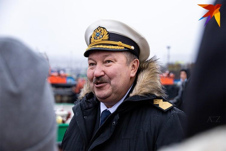 Капитан учебного судна «Седов» Виктор Николин.
