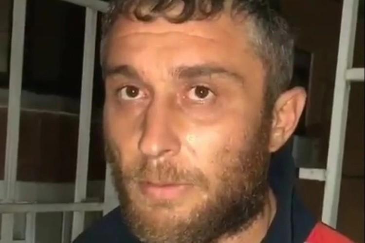 Магомед Мирзалибагандов, убийца Калимат Омаровой. Фото: кадр видео