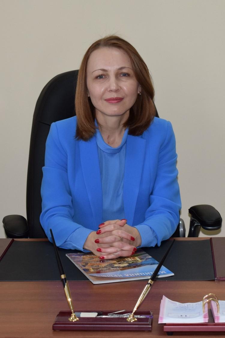 Генеральный директор ООО «СМК «Крыммедстрах» Елена Сидорова.