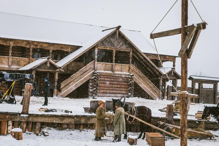 """Для съемок сериала """"Тобол"""" построили капитальные сооружения. Фото: tobol-film.ru"""