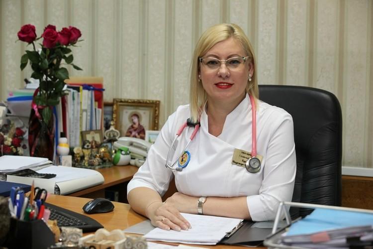 Надежда Горелик, главный врач ККЦ СВМП. Фото: ГБУЗ «Краевая детская клиническая больница №1»