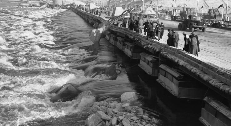 Волга была перекрыта за рекордные 19 часов и 35 минут