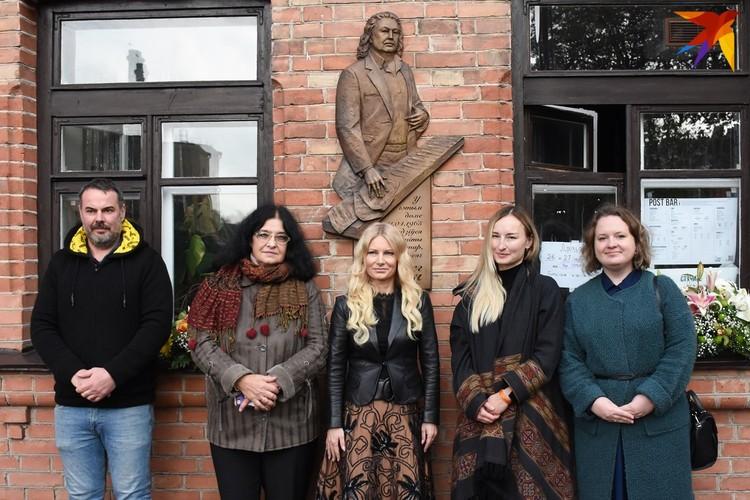 Событие состоялось 26 октября - в годовщину смерти известного белорусского композитора в историческом центре столицы.