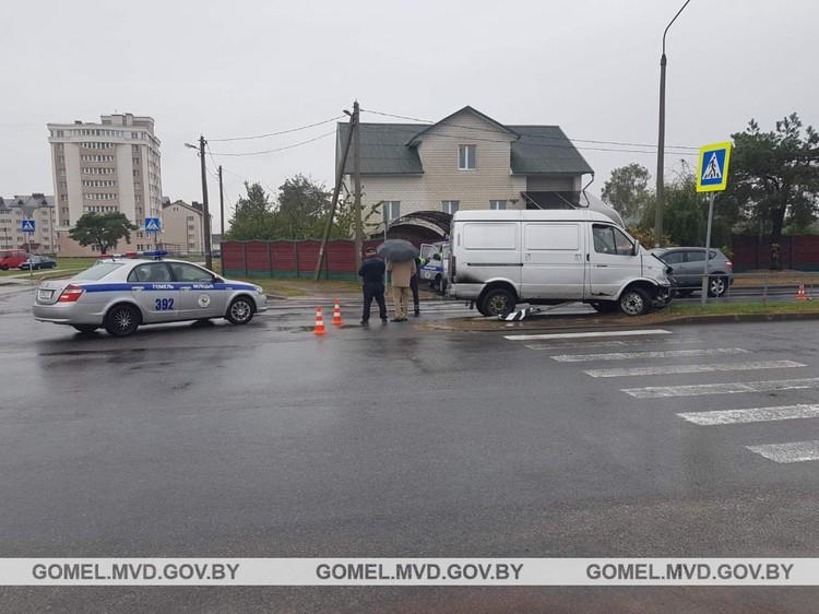 В Гомеле водитель сбил ребенка. Фото: УВД