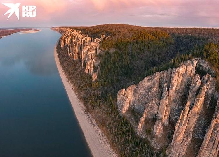Илья Варламов назвал это место самым красивым в России. Фото Максима Рязанцева