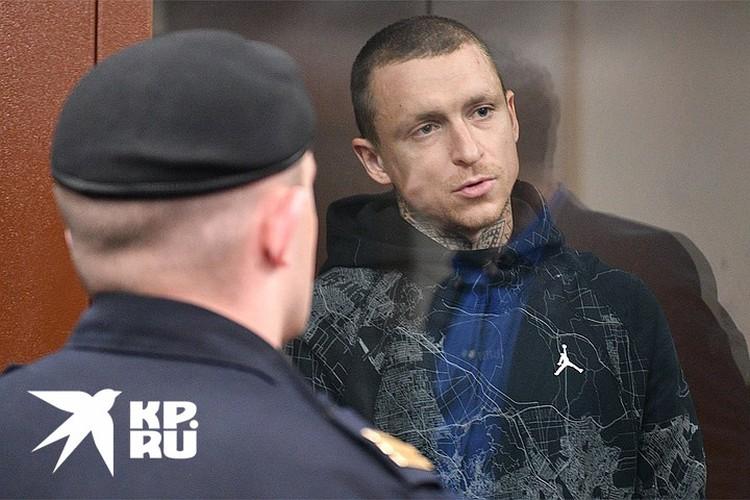 Павел Мамаев на судебном заседании, ноябрь 2018 г.