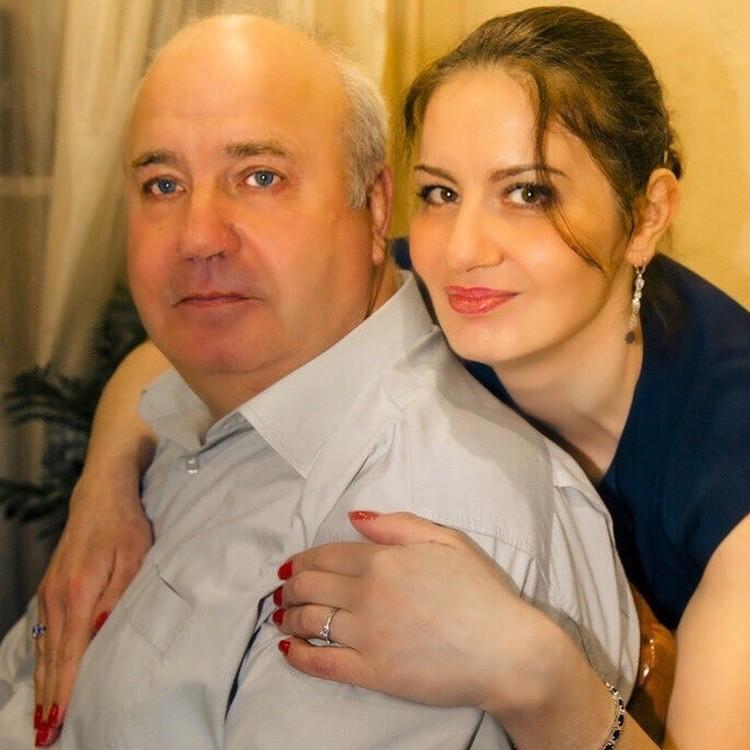 Татьяна с отцом. Фото Татьяны Качан.