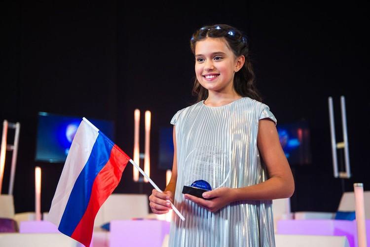 11-летняя София Феськова сейчас мечтает только об одном - победить в конкурсе. И у нее есть все шансы!
