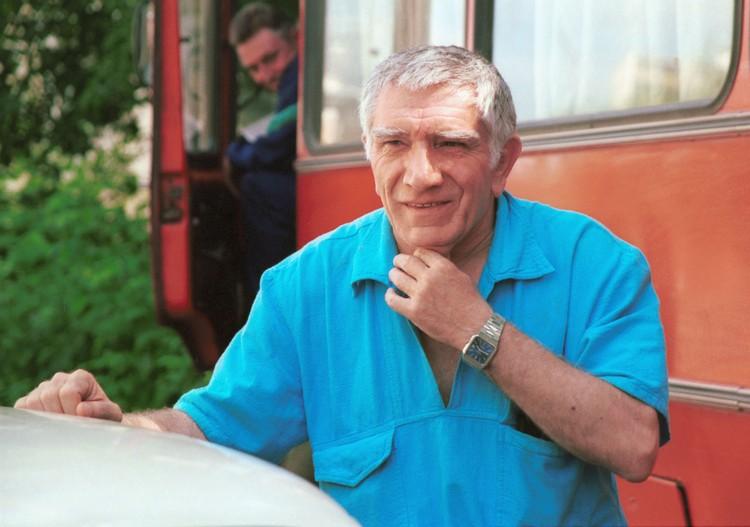 Проживший богатую творческую и личную жизнь актер ушел на 86-м году жизни. Фото: Ираклий Чохонелидзе/ТАСС