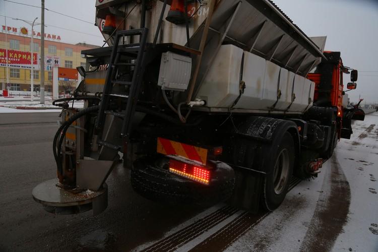 «Бионорд» снизит риск аварий на дорогах из-за наледи и снега