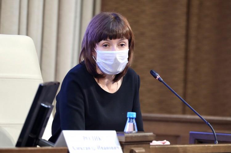 Министр здравоохранения Приморья рассказала об освоении средств. Фото: Александр Сафронов (правительство ПК)