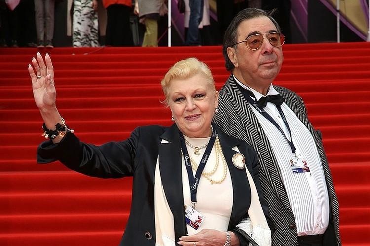 Наталия Дрожжина и Михаил Цивин в 2018 г.