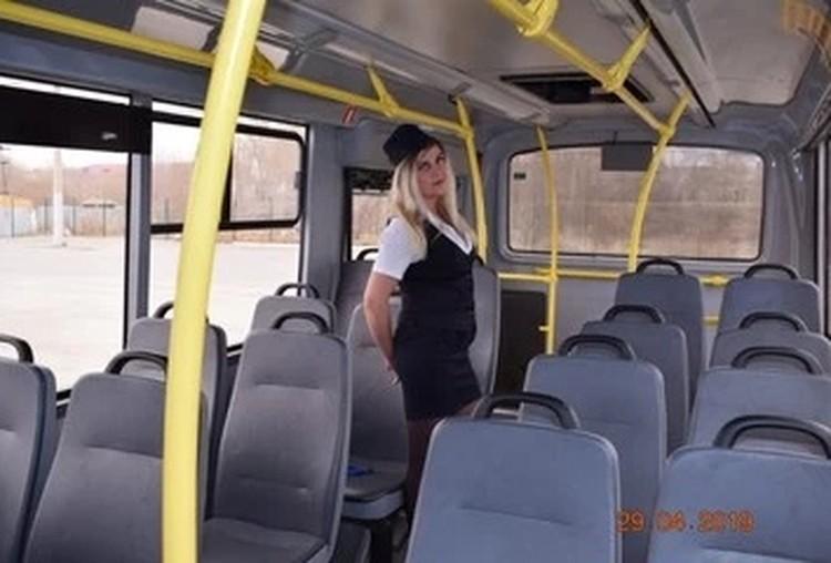 Так раньше выглядел «родной» для Натальи автобус 109-го маршрута.
