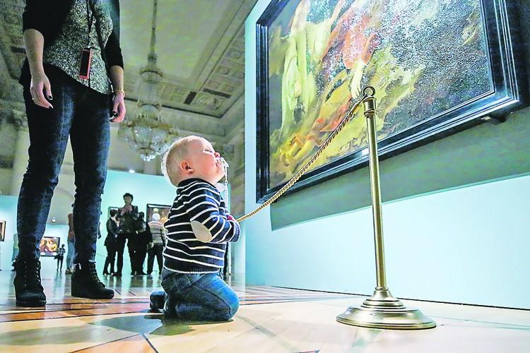 Эрмитаж: настоящее искусство понимают не только взрослые, но и малыши. Петр КОВАЛЕВ/ТАСС