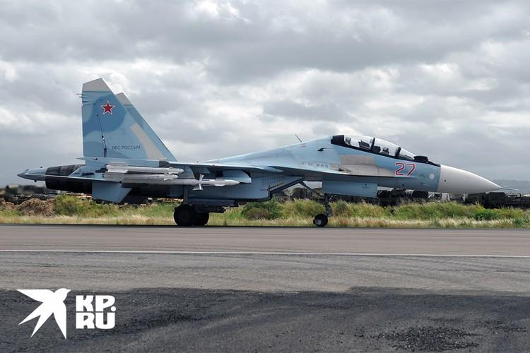 Су-30СМ ВВС России.