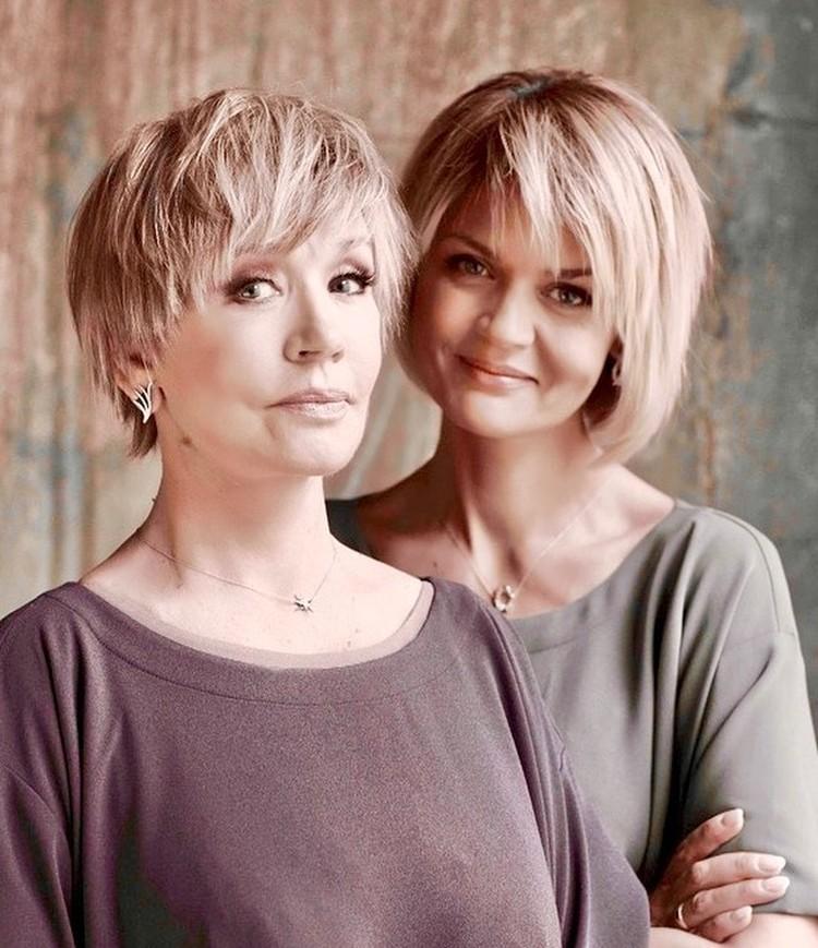 Юлия Меньшова и ее мама Вера Алентова
