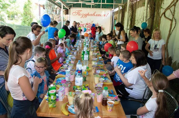 """Вот такие праздники фонд """"Сердце"""" организовывает регулярно. Фото: архив Инны Сасим"""