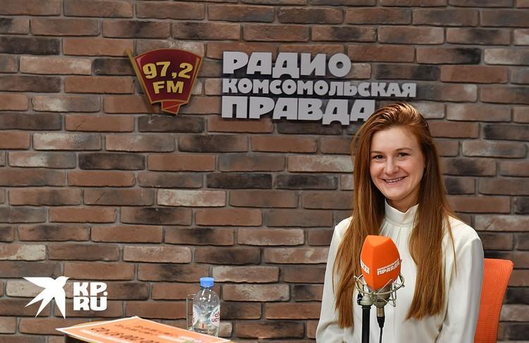 """Мария Бутина на Радио """"Комсомольская правда"""""""