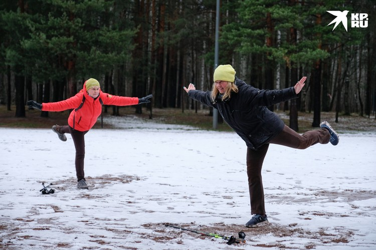 Ирина Марковская (справа) - тренер с 12-летним стажем
