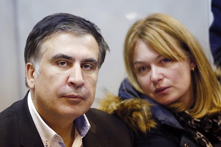 52-летний Михаил Саакашвили женат на матери двух своих сыновей, 51-летней Сандре Рулофс