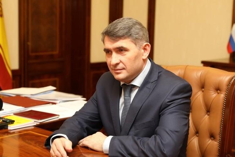 Глава Чувашии Олег Николаев.