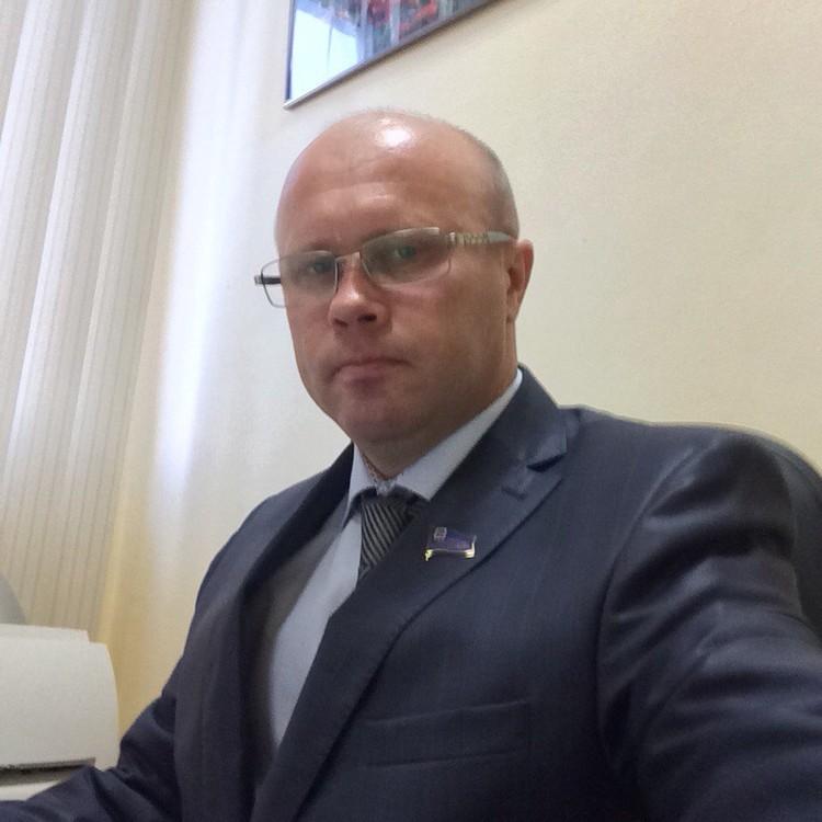 Алекснадр Рябцев на рабочем месте