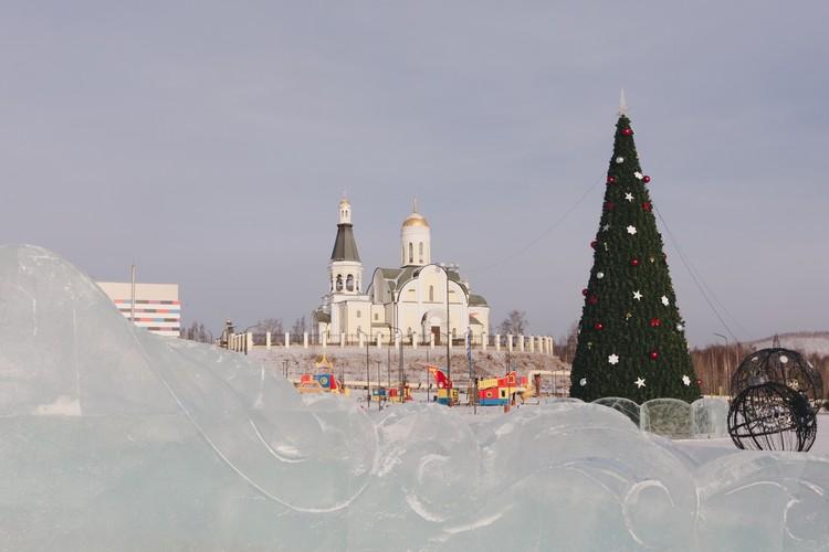 ТРК «Медь» и площадь перед комплексом – одни из новых точек притяжения горожан.