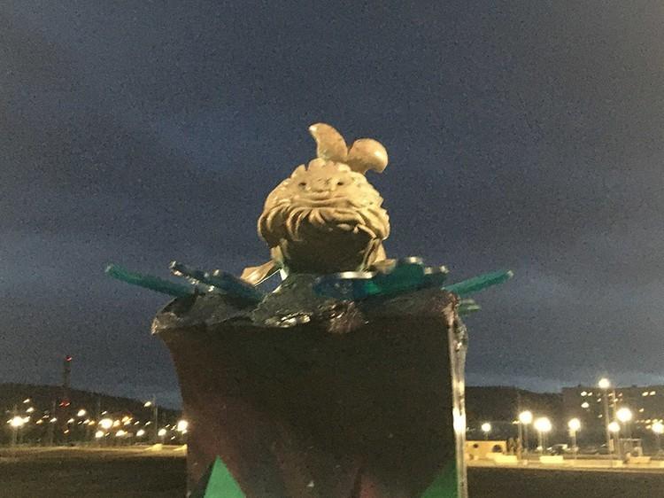 Изюминка Поморской набережной - скульптура кита, которая вызвала неоднозначную реакцию