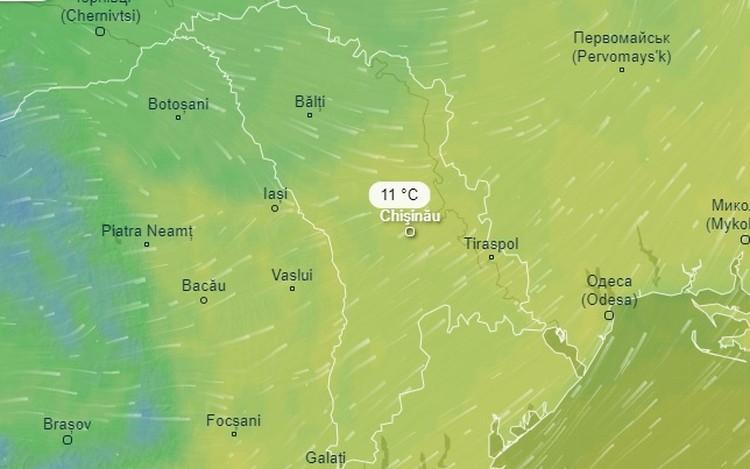Завтра днем ожидается +11 градусов тепла.