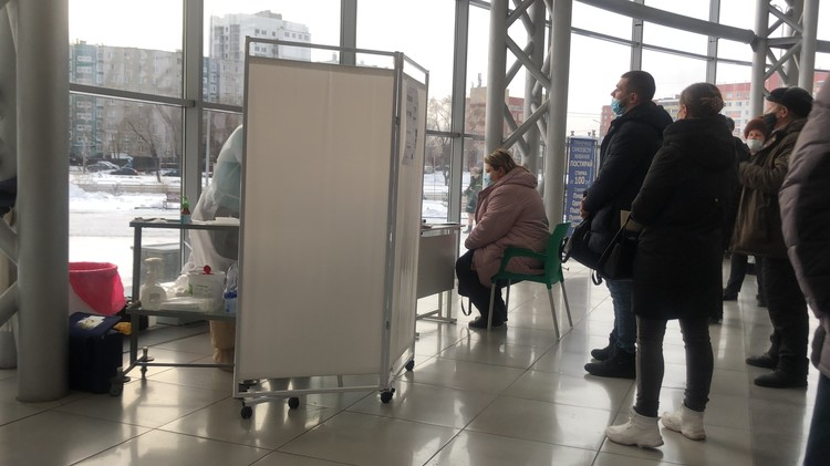 Анализы в ТРК «Алмаз» сдают на первом этаже