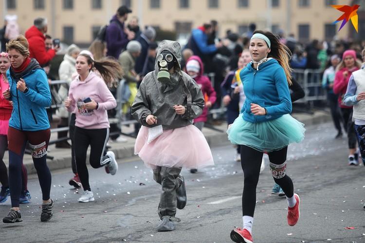 Красивый забег. Минск. 5 марта 2020 года.