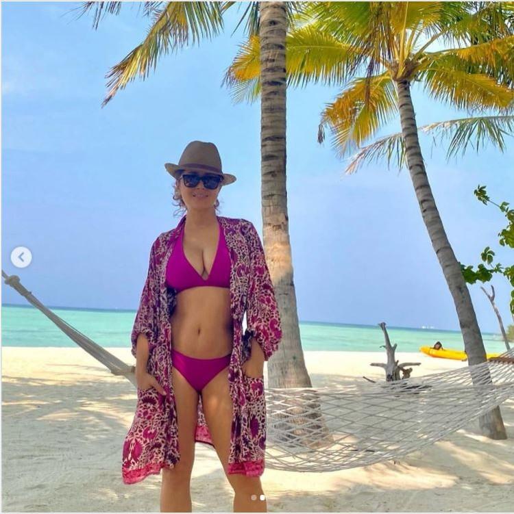 Актриса не рассказывает, куда она отправилась в отпуск. Фото: Инстаграм.