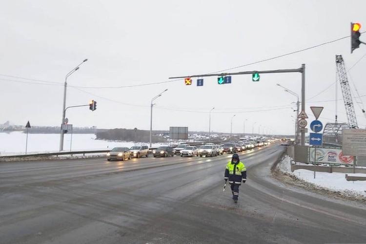 После реконструкции дорогу на участке улицы Валиди расширят до шести полос