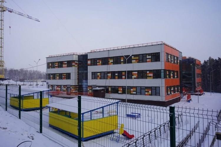 Новые детские сады. Фото: с личной страницы Сергея Еремина в Instagram