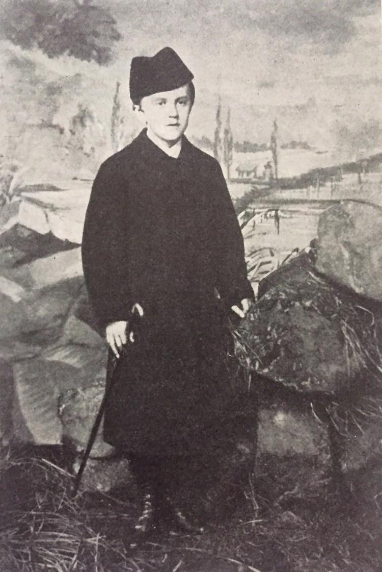 Юный Фердинанд в Минске. Фото: artmuseum.by