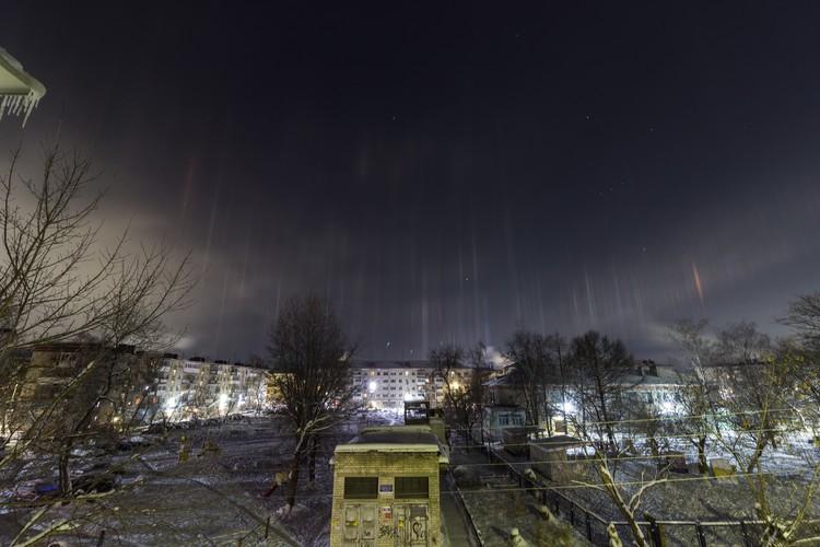 Явление продолжалось минут 20-25. Фото: Тима Шарапиев