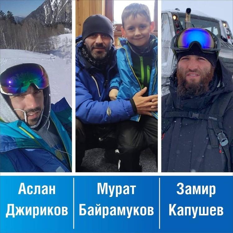 Фото героев: личная страница главы КЧР