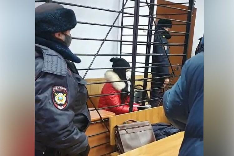 Суд продлил срок ареста еще на месяц. Фото предоставлено потерпевшими.