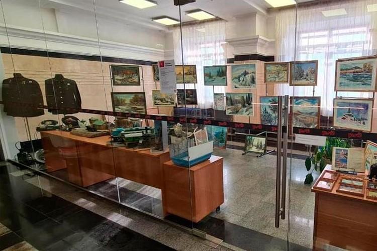 В экспозиции участвует более 30 предметов. Фото: Западно-Сибирская железная дорога