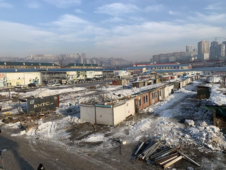 Многие жители Владивостока называют снос рынка «уходом эпохи»