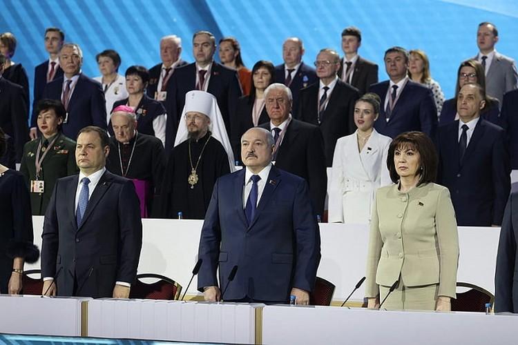Планируется, что Лукашенко примет участие и во втором днем ВНС. Фото: БелТА.