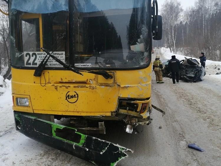 ДТП произошло на Воткинском шоссе
