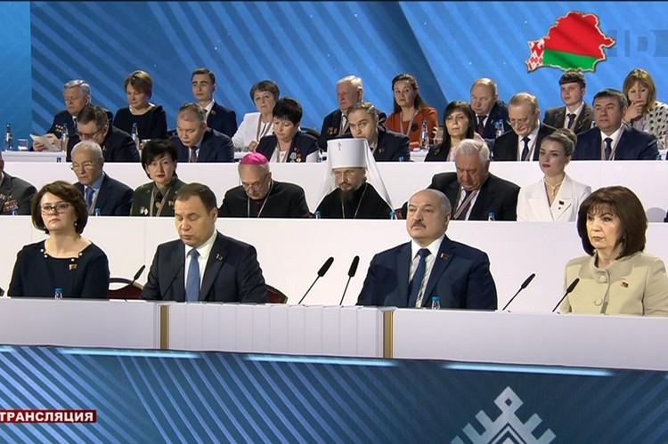 Статус Всебелорусского народного собрания собираются прописать в Конституции. Кадр видео