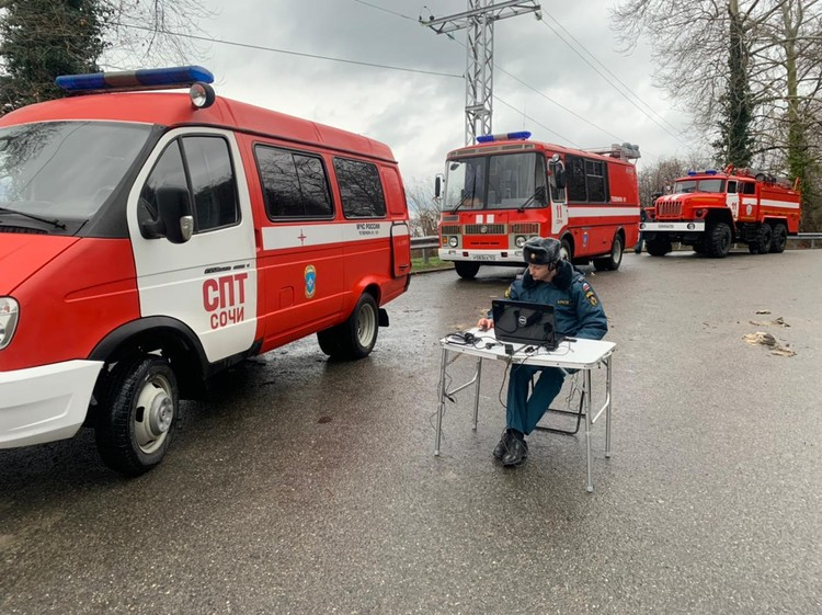 Фото: пресс-службы ГУ МЧС России по Краснодарскому краю