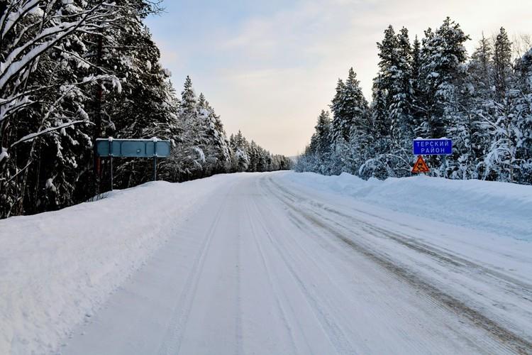 Зимняя красота Терского берега.