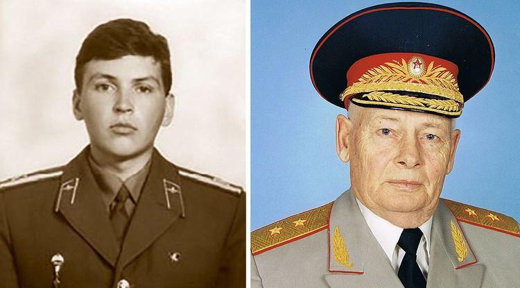 Капитан Юрий Щепин - сын генерал-лейтенанта Юрия Щепина.