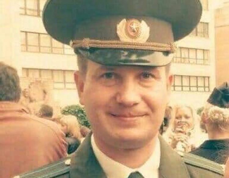Подполковник Александр Алешин.