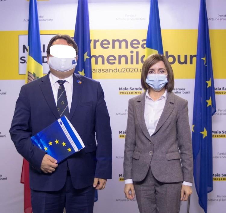 Санду - за Евросоюз!