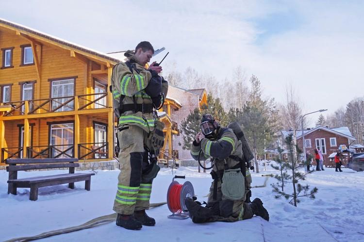 Скоро здесь пройдет несколько крупных соревнований, поэтому безопасность превыше всего. Фото: ГУ МЧС по Челябинской области